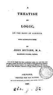 A treatise on logic, on the basis of Aldrich PDF