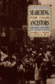 Searching for your ancestors PDF