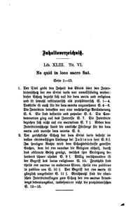Die Interdicte zum Schutze des Gemeingebrauches by August Ubbelohde
