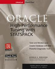Oracle high-performance tuning with STATSPACK PDF