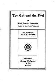 The Girl And The Deal by Karl Edwin Harriman