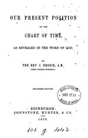 Our present position on the chart of time, as revealed in the Word of God PDF