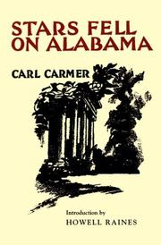 Stars fell on Alabama by Carmer, Carl Lamson