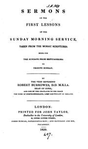 Sermons on the first lessons of the Sunday morning service ... from Septuagesima to Trinity Sunday PDF