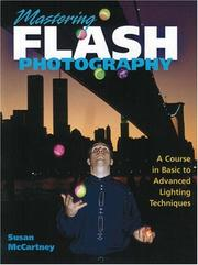 Mastering flash photography by Susan McCartney