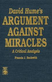David Hume's argument against miracles PDF