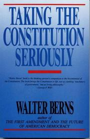 Taking the constitution seriously PDF