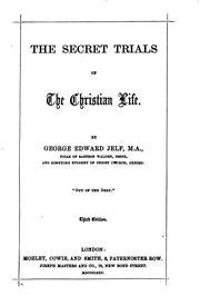 The secret trials of the Christian life PDF
