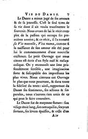 Vie du Dante: avec une notice de?taille?e de ses ouvrages PDF