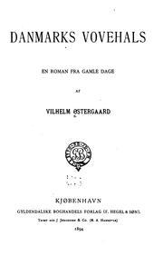 Danmarks Vovehals: en roman fra gamle dage