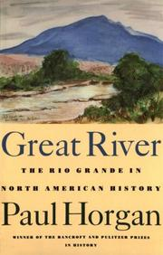 Great river by Paul Horgan
