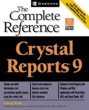 Crystal reports 9 by Peck, George
