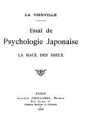 Essai de psychologie Japonaise: la race des dieux