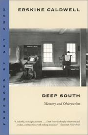 Deep South by Caldwell, Erskine