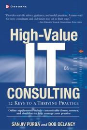 High-value IT consulting by Sanjiv Purba