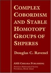 Complex cobordism and stable homotopy groups of spheres by Douglas C. Ravenel