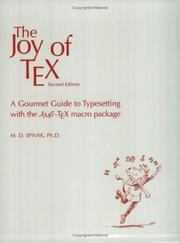 The joy of TEX by Michael Spivak