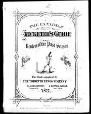 The Canadian cricketer's guide by T. D. Phillipps