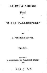 Afloat & ashore, sequel to Miles Wallingford
