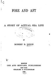 Fore and Aft: A Story of Actual Sea Life PDF