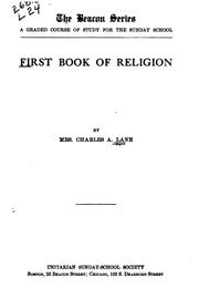 First Book of Religion PDF