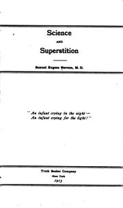 Science and Superstition by Samuel Eugene Stevens