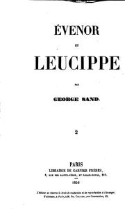 Évenor et Leucippe by George Sand