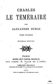 Charles le téméraine by E. L. James