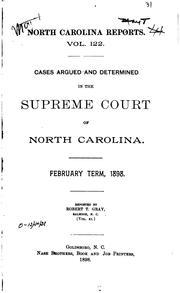 North Carolina Reports PDF