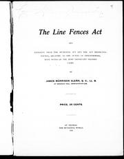 The Line Fences Act PDF