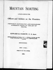 Mountain scouting by Farrow, Edward S.