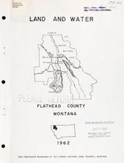 Land and water, Flathead County, Montana.