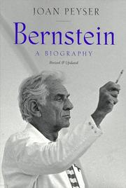 Bernstein by Joan Peyser