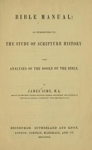 Bible manual PDF