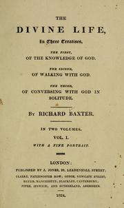 The divine life by Richard Baxter
