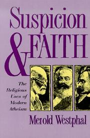 Suspicion and faith by Merold Westphal