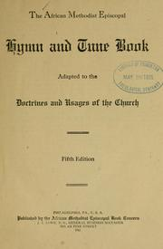 The African Methodist Episcopal hymn and tune book PDF