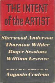 The intent of the artist PDF