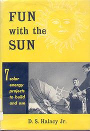 Cover of: Fun with the sun by D. S. Halacy