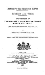 The Geology of the Country Around Fakenham, Wells, and Holt: (Explanation of Quarter-sheets 68 N .. PDF
