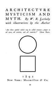 Architecture, mysticism and myth PDF