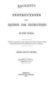 Sackett's instructions and requests for instructions in jury trials PDF