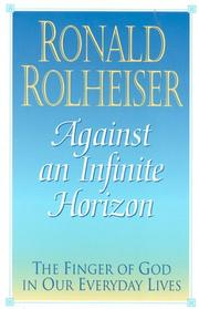 Against an infinite horizon by Ronald Rolheiser
