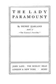 The Lady Paramount PDF