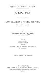 Equity in Pennsylvania PDF
