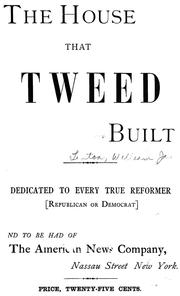 The house that Tweed built by W. J. Linton