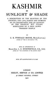 Kashmir in sunlight & shade by Cecil Earle Tyndale-Biscoe
