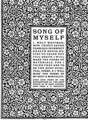 Song of myself PDF