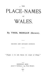 The place-names of Wales PDF