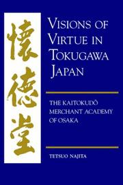 Visions of virtue in Tokugawa Japan PDF